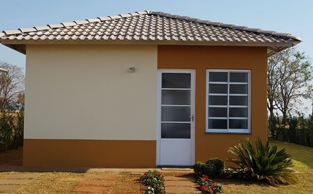 MINHA CASA DECORADA: futuros moradores conhecem residência pronta
