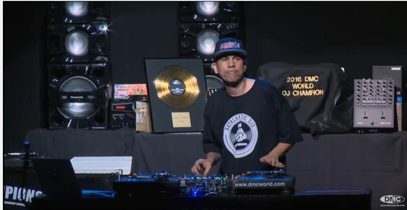 DJ Basim, no Espaço Cultural Arena Margarida