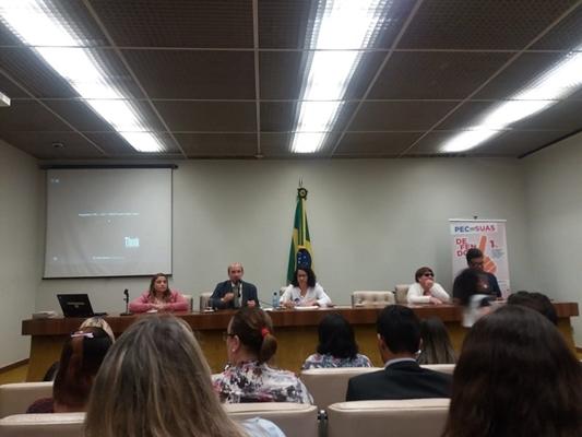 DADO PARTICIPA DE EVENTO DE ASSISTÊNCIA SOCIAL EM BRASÍLIA