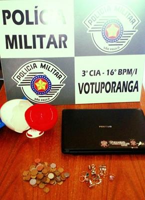 Polícia Militar pega garotos de 13 e 16 anos