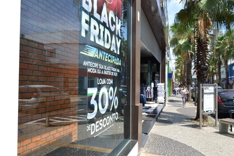 COMÉRCIO DE VOTUPORANGA ESPERA 5% A MAIS NA BLACK FRIDAY