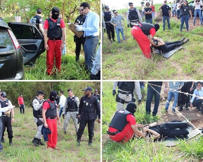 POLÍCIA RECONSTITUI ASSASSINATO DE KELY