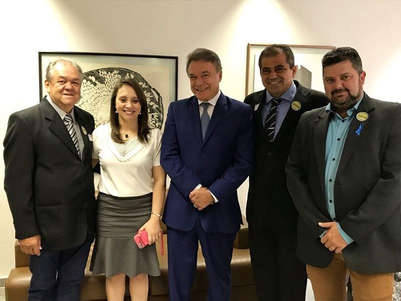 Vereadores e prefeito buscam recursos em Brasília