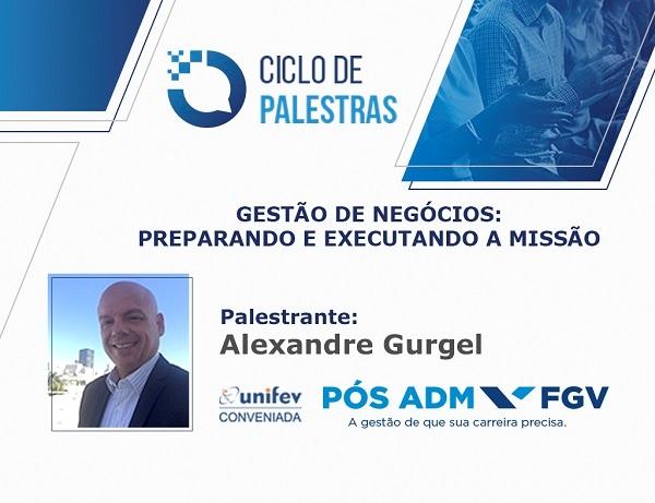 CICLO DE PALESTRAS PÓS FGV