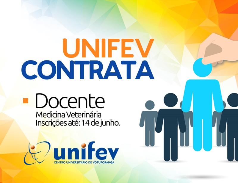 VETERINÁRIA DA UNIFEV CONTRATA PROFESSOR