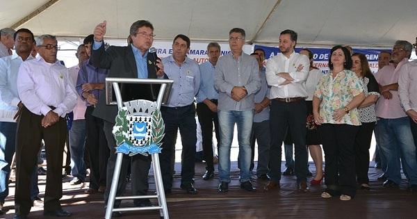 Deputado Carlão anuncia R$1,6 milhão para Valentim Gentil