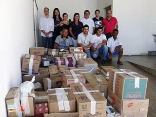 5bfb90984 Santa Casa recebe doação de 1 tonelada de alimentos